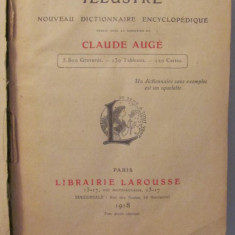 GE - Petit LAROUSSE Illustre / Claude Auge / Paris 1918 - Enciclopedie