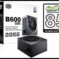 Sursa pc, calculator cooler master b600 ver2 noi, sigilate garantie