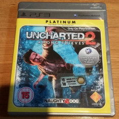 PS3 Uncharted 2 Among thieves Platinum - joc original by WADDER - Jocuri PS3 Sony, Actiune, 16+, Single player