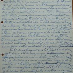 Scrisoare olografa Petru Groza catre Cleja Stefan, Batal. 3 Dorobanti, 1943 - Autograf