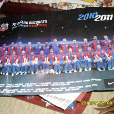 Poster Steaua 2010-2011