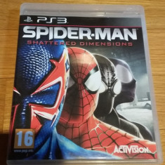 PS3 Spider-man Shattered dimensions - joc original by WADDER - Jocuri PS3 Activision, Actiune, 16+, Single player