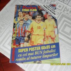 Poster Gh. Hagi 1999