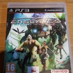 PS3 Enslaved Odyssey to the west - joc original by WADDER - Jocuri PS3 Namco Bandai Games, Actiune, 16+, Single player