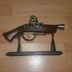 Bricheta model pistol de epoca - Bricheta Cu Gaz