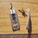 Cercei argint model 1