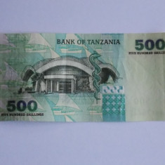 Bancnota Tanzania 500 shilingi - bancnota africa