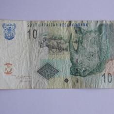 Bancnota 10 rand Africa de Sud - bancnota africa