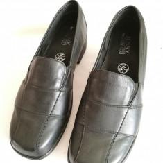 Pantofi din piele de dama Jenny Ara mar. 40 - Pantof dama Adidas, Culoare: Negru