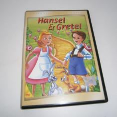 Hansel & Gretel, DVD subtittrat romana! - Film animatie