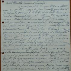 Scrisoare olografa Petru Groza catre Lucretia Barbul, 1943 - Autograf