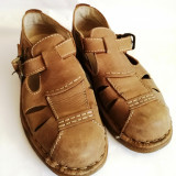 Pantofi sandale barbati din piele Caribou mar.42