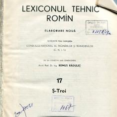 LICHIDARE-Lexiconul tehnic roman : vol. 17 - Autor : Remus Radulet - 104486 - Enciclopedie