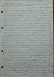 Scrisoare olografa Petru Groza , in maghiara , 24 Iunie 1944