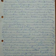 Scrisoare olografa Petru Groza, in maghiara, 24 Iunie 1944 - Autograf
