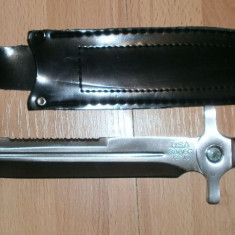 Cutit de vanatoare cu busola USA - Briceag/Cutit vanatoare