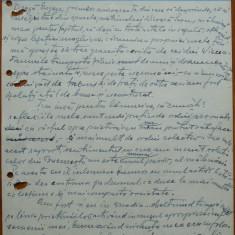 Scrisoare olografa Petru Groza catre Dr. Eugen Barbul, 1942 - Autograf