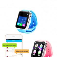 Ceas cu telefon pentru copii H6 smart watch bluetooth, Alte materiale, Negru, watchOS, Apple Watch