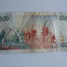 Bancnota 50 shilingi Kenia 2008 - bancnota africa