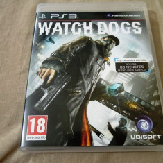 Joc Watch Dogs, PS3, original, alte sute de jocuri! - Jocuri PS3 Square Enix, Actiune, 18+, Single player