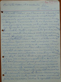 Scrisoare olografa Petru Groza catre Petre Hossu , 1943 , 4 pagini