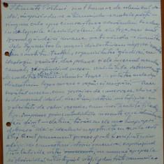 Scrisoare olografa Petru Groza catre Petre Hossu, 1943, 4 pagini - Autograf