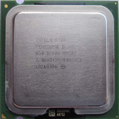 Procesor Intel Pentium D 830 D830    3 Ghz socket 775, Intel Pentium Dual Core, 2