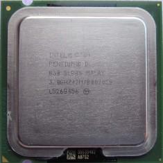 Procesor Intel Pentium D 830 D830 3 Ghz socket 775 - Procesor PC Intel, Intel Pentium Dual Core, Numar nuclee: 2, 2.5-3.0 GHz, LGA775