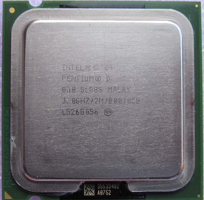 Procesor Intel Pentium D 830 D830    3 Ghz socket 775