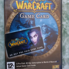 World Of Warcraft Game Card 60 Days Pc - - Joc PC, Role playing, 16+