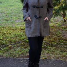 Jachete de toamna-iarna, culoare bej, casual (Culoare: BEJ, Marime: 40) - Jacheta dama