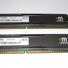 Kit 2 x 2 Gb DDR3 Mushkin Silverline / 1333 Mhz / Gaming (T20.5) - Memorie RAM Mushkin, 4 GB, Dual channel
