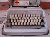 Masina de scris ADLER JUNIOR 10+banda noua de scris