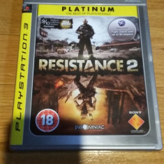 PS3 Resistance 2 Platinum - joc original by WADDER - Jocuri PS3 Sony, Shooting, 18+, Multiplayer