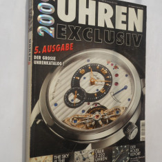016. Catalog ceasuri de lux.