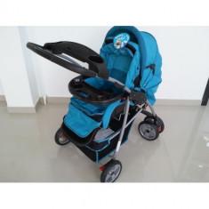 Carucior 3 in 1 - Carucior copii 3 in 1 Baby Care, Albastru