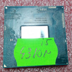 Procesor laptop Intel® Core™ i5-4310M-2.70Ghz, Intel 4th gen Core i5, 2500- 3000 Mhz, G3