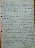 Scrisoare olografa Petru Groza catre Pasca Vasile , Batalionul 7 Transm. , 1943