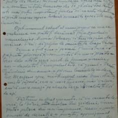 Scrisoare olografa Petru Groza catre Pasca Vasile, Batalionul 7 Transm., 1943 - Autograf