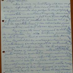 Scrisoare olografa Petru Groza catre C-tin Bucsan, fost ministru, 1943 - Autograf