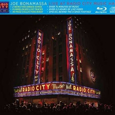 JOE BONAMASSA Live At Radio Hall Boxset (cd+bluray) - Muzica Blues