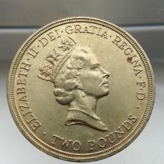 Moneda 2 pounds 1986 Anglia comemorativa Commonwealth Games (piesa 2), Europa