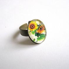 Inel cu floarea soarelui 28372