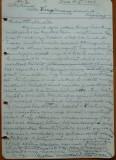 Scrisoare olografa Petru Groza in maghiara , Deva , 1942