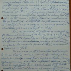 Scrisoare olografa Petru Groza catre marinescu, Regim. 1 Rosiori, 1942 - Autograf
