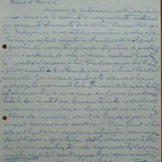 Scrisoare olografa Petru Groza catre Petre Hossu, 1943 - Autograf