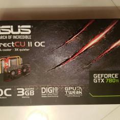 ASUS Nvidia GTX 780 Ti DirectCU2 OC 3GB GDDR5 - Placa video PC