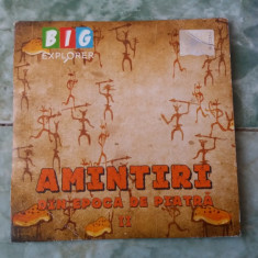 AMINTIRI DIN EPOCA DE PIATRA II ,  BIG EXPLORER, DVD, Romana