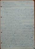 Scrisoare olografa Petru Groza catre Aurel Oprean , magistrat , 1943