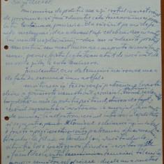 Scrisoare olografa Petru Groza catre Aurel Oprean, magistrat, 1943 - Autograf